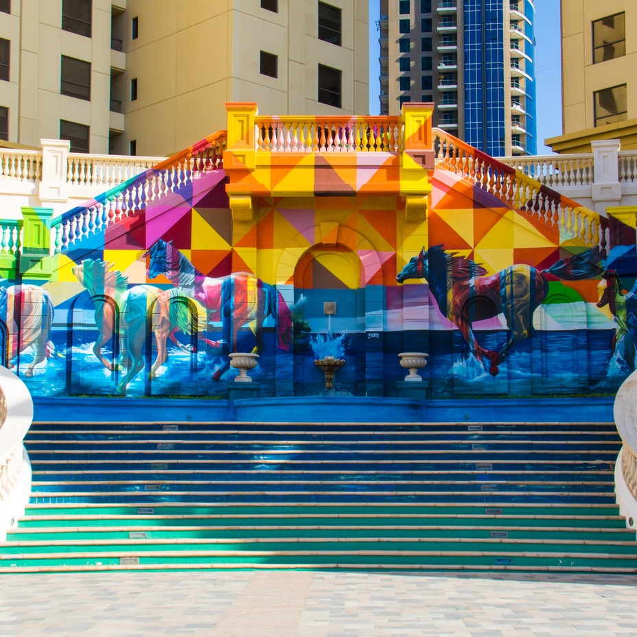 Dubai real estate public art