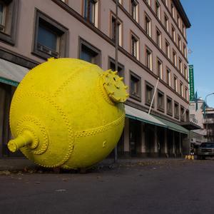 Downtown grenade - guerrilla action