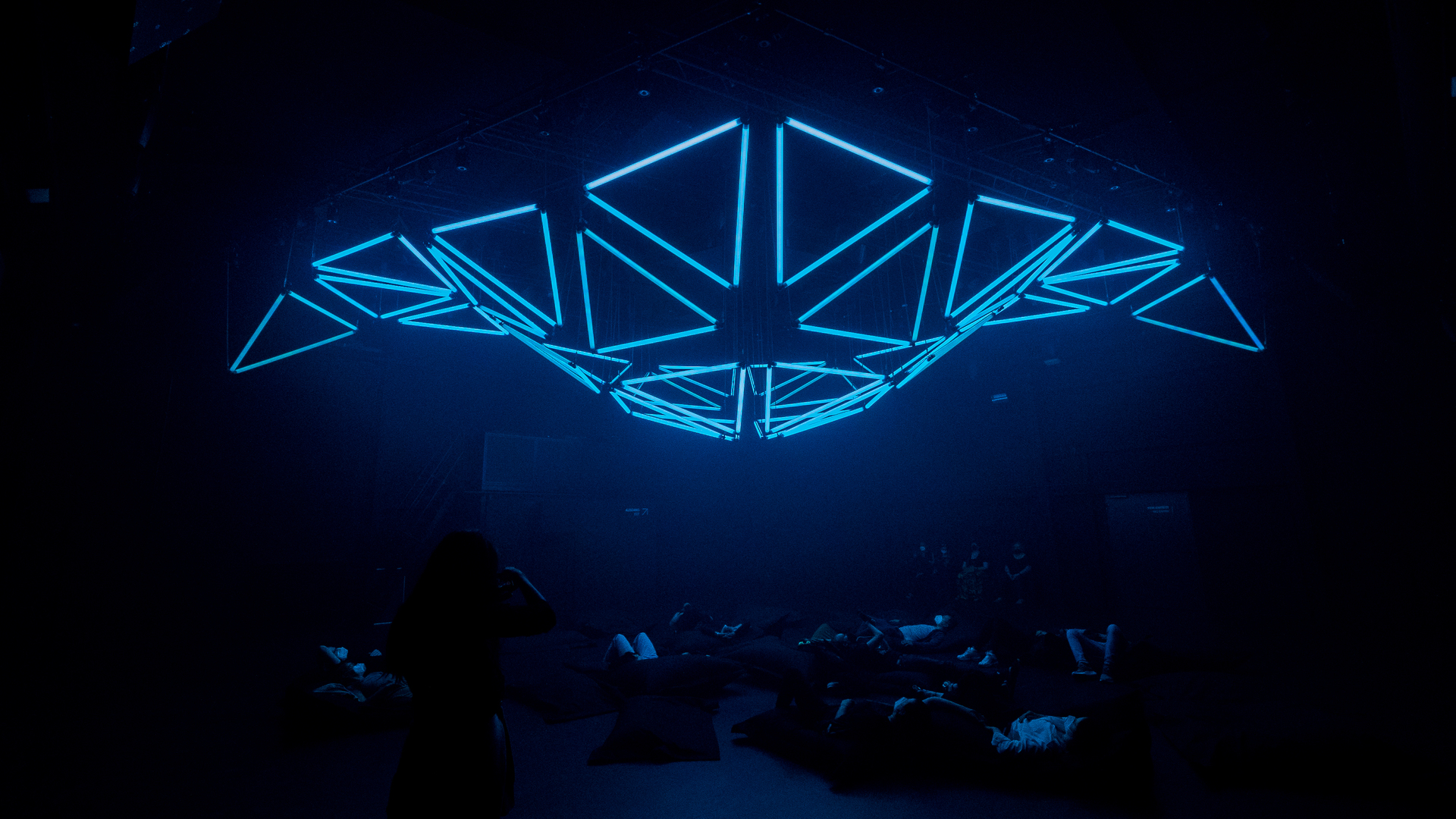 Look but also touch: the rise of immersive art