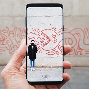 AR street art